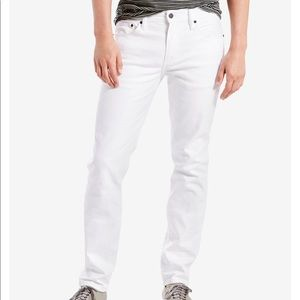 Men's Levi's 511 Slim Stretch White Jeans